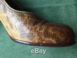 CHAUSSURES ANCIENNES 1930 serpent VANI-TRED ANNE by Manfield