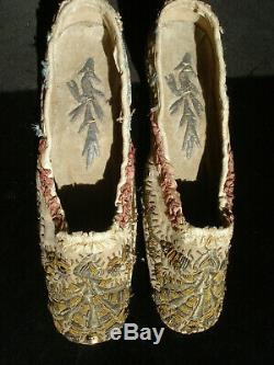 Chaussures anciennes mode ottomane antique early victorian ottoman style shoes