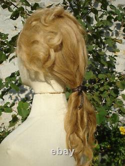 Perruque d'homme style XVIII gents 18 th c style real hair whig
