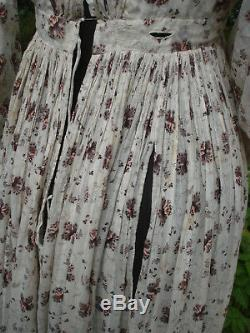 Robe ancienne 1830 Antique french Regency Gown